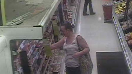 CCTV image of a woman police wish to speak to.