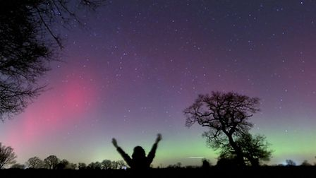 Wendy Clark was lucky enough to get pictures of the Northen Lights
