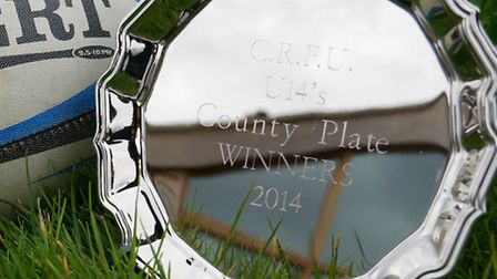 The county plate, won by Ely Tigers under 14s