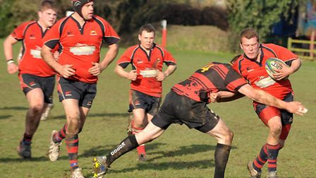 Wisbech vs Wymondham rugby. Picture: Steve Williams.