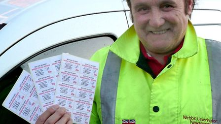 Brian Webb Launches Postal Service in Wisbech .