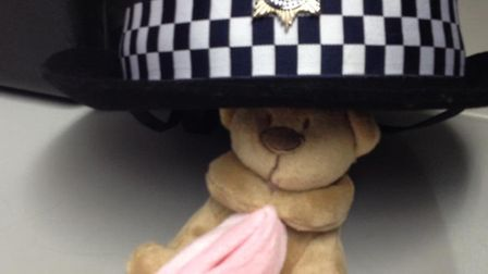The missing teddy bear has been re-united with its owner.