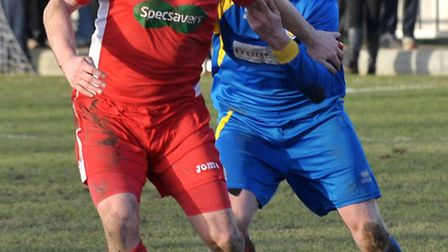 Wisbech football vs Spalding Action. Picture: Steve Williams.