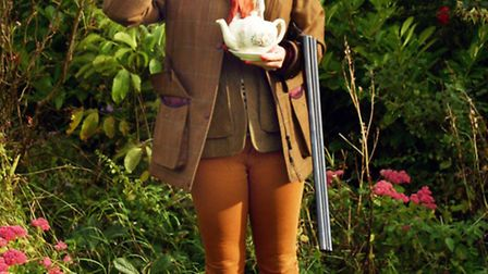 Ladies can try out clay shooting at the event.
