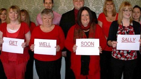 The team at Bowsers wish Sally Goddard good luck with her recovery.