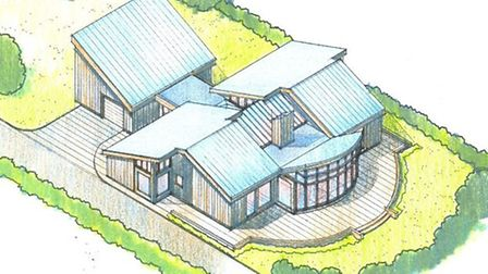An artist's impression of the house in Wentworth