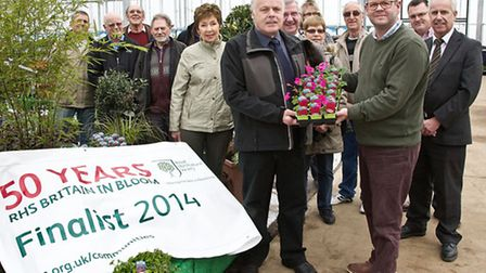 Start of the Wisbech in Bloom 2015 competition.