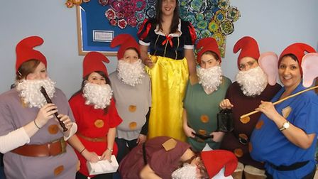 Leverington Primary Academy - Book Day. Pupils and staff dressed up as their favourite book characte