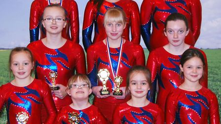 Fenland Flyers Trampoline Club at Hitchin.