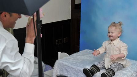 Baby of the year. March. 22month old Lillie Hope Martin.
