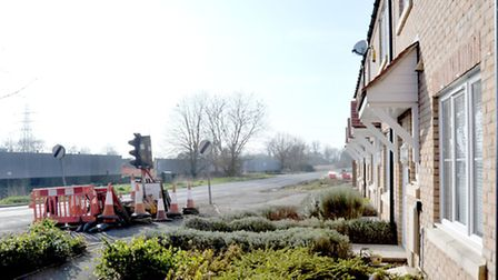 New housing development at Gaul Road, March. Picture: Steve Williams.
