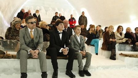 Wedding in the Ice Hotel