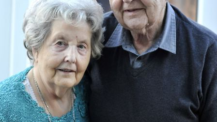 At their home in Haddenham is Janet and Peter Handley, who are celebrating their Diamond Wedding Ann
