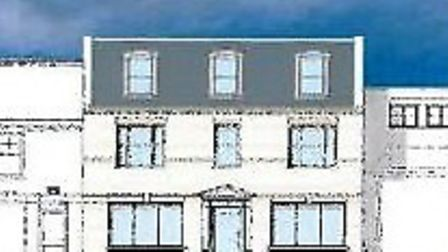 How Ellis Winter propose their new office with flats above in March market place