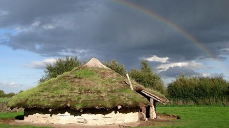 Bronze Age Roundhouse at Flag Fen