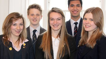 Wisbech Grammar School students win places on medicine and dentistry courses. Left: Chloe Short, Jam