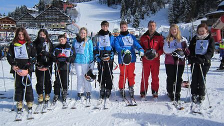 Ski Trip for Cromwell Community College students