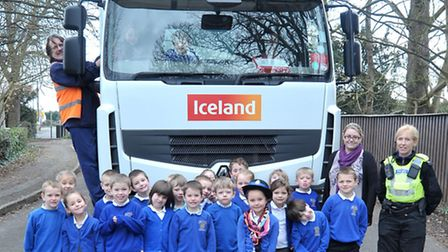 Thomas Eaton School in Wimblington- Held a road safety event in conjunction with Iceland.They bought