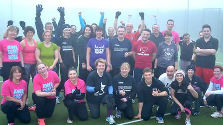Fitness Camp, Ely. Picture: Steve Williams.