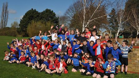 Sport Relief at Park Lane school, Whittlesey