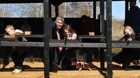 Steve Barclay MP visit to Mepal outdoor centre