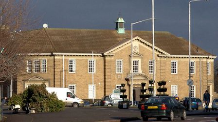 Wisbech Court House and police station