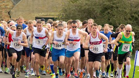 The start of the Thorney race. Picture: FREEANGLE PHOTOGRAPHY