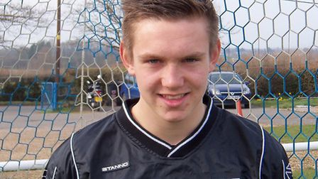 Charlie Turner was Barnston's man-of-the-match against Holland FC on Saturday.