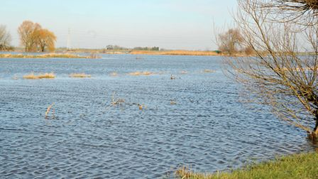 Whittlesey Wash Flooded