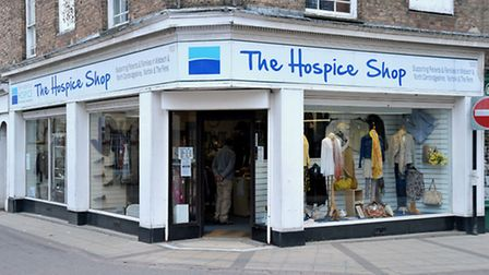 The Hospice shop. Union Street. Wisbech. Picture: Steve williams.