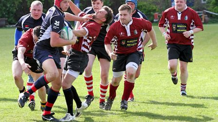 Action from March Bears v Wisbech II. Picture: BARRY GIDDINGS