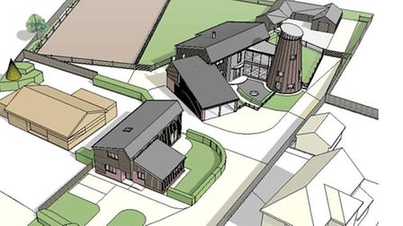 How the mill could look if plans are approved