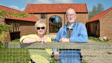 Trevor Cass and Rosie Hourihane are setting up a museum of technology at Throckennholt. Trevor and R