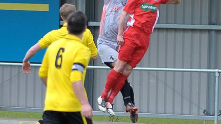 Wisbech football vs Harborough Town. Picture: Steve Williams.