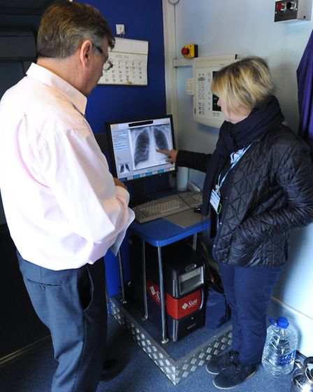 Public Health England offered screening to factory workers in Chatteris after last month's TB diagno