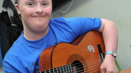 Disabled young people on musical journey at the Queen Mary Centre, Wisbech with the Papworth Trust h