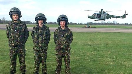 Lynx Flight for March Air Cadets from 1220 (March) Sqn ATC.