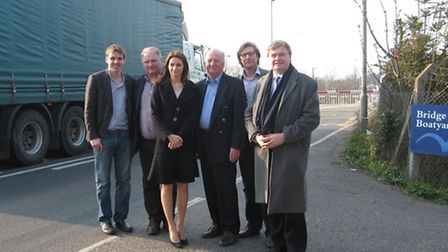Sir Jim Paice with David Campbell-Bannerman, Lucy Frazer, James Palmer, Charles Roberts and Tom Hunt