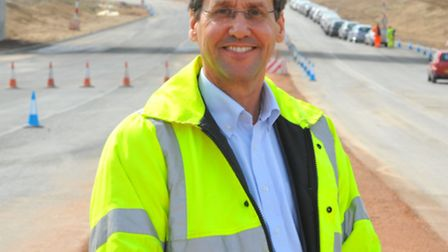 Geoff Chatfield, the Highways Agency project manager.