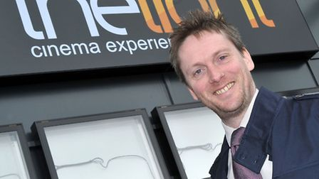 The Light Cinema, Wisbech. Phil Dove General Manager of the Light Cinema. Picture: Steve Williams.