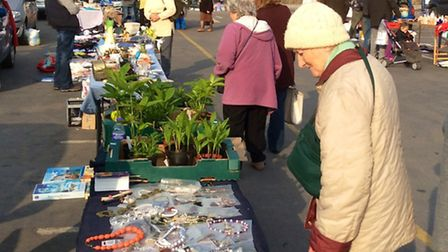 Wisbech's Horsefair Shopping Centre will be holding a charity car boot sale on bank holiday Monday,