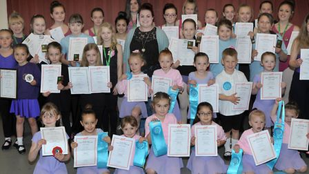Katy Lilley dance school has dance exam success. Angles Theatre Wisbech. Picture: Steve Williams.