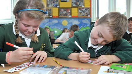 Benwick Primary School had a good Ofsted. Picture: Steve Williams.