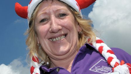 St George's Fayre, March. Mandy Waddon from March Podiatry Picture: Steve Williams.
