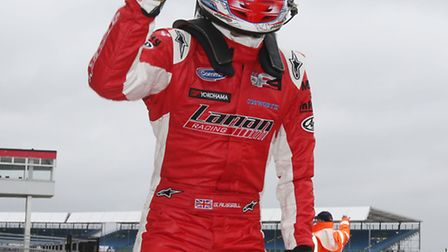 George Russell storms to victory at Silverstone. Picture: JAKOB EBREY PHOTOGRAPHY