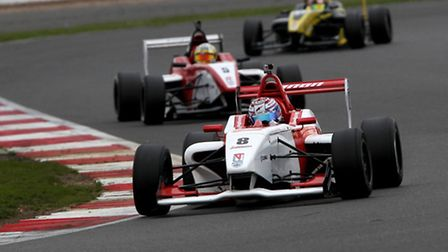 George Russell storms to victory at Silverstone. Picture: JAKOB EBREY PHOTOGRAPHY.
