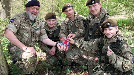 Wisbech cadets. Picture: MAJOR MARK KNIGHT MBE