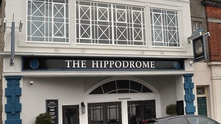 Wetherspoon's pub the Hippodrome in Dartford Road March