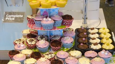 Cakes were sold to raise money for EACH.