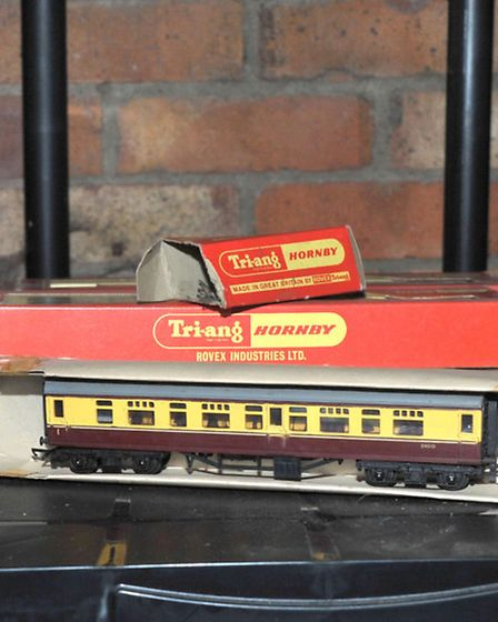 June Barfield had a theft of some dolls and model railway trains. Similar boxes to the model railway